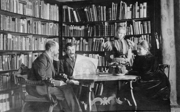 Warburg in Florence, circa 1900