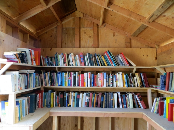 inside the book shed